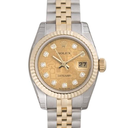 【店内全品送料無料~3/11】ロレックス ROLEX デイトジャスト レディース 腕時計 ゴールド 179173G