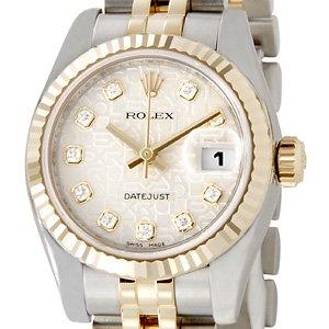 【店内全品送料無料~3/11】ロレックス ROLEX レディース 腕時計 シルバー 179173G