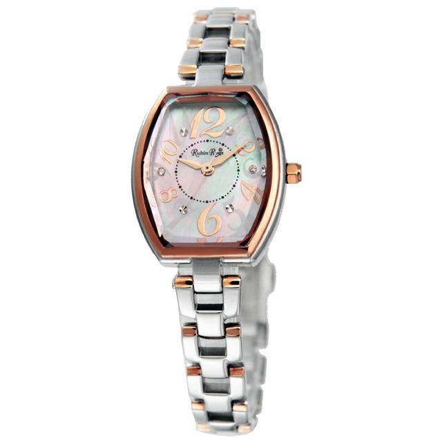 ルビンローザ Rubin Rosa レディース 腕時計 R018SOLTWH