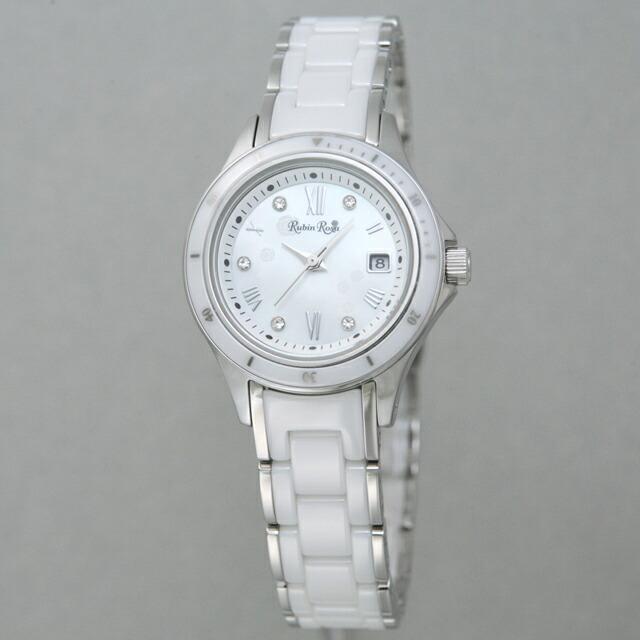 ルビンローザ Rubin Rosa レディース 腕時計 R306SWHMOP