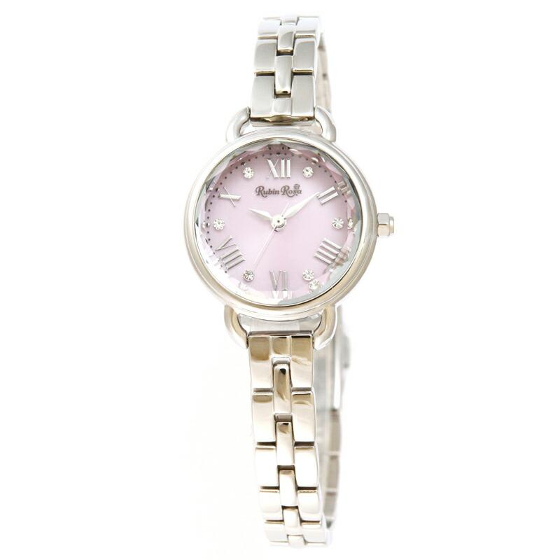 ルビンローザ RubinRosa 腕時計 レディース R019SOLSPK ピンク