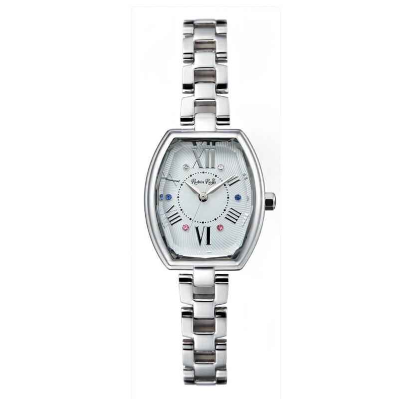 ルビンローザ RubinRosa 腕時計 レディース R018SOLSLV シルバー