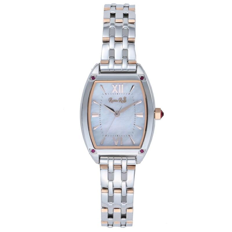 ルビンローザ RubinRosa 腕時計 レディース R025SOLTWH ホワイト
