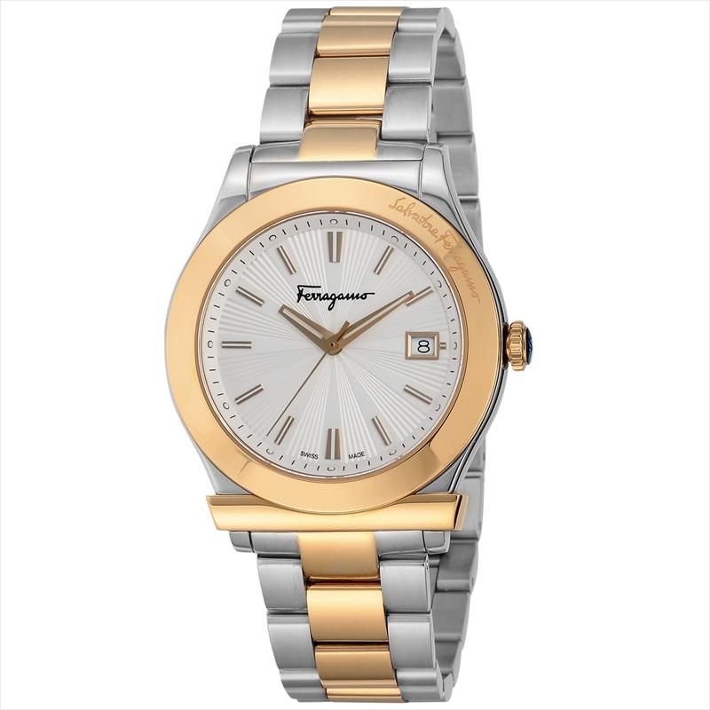 フェラガモ Ferragamo メンズ腕時計 フェラガモ1898 FF3070014 シルバー