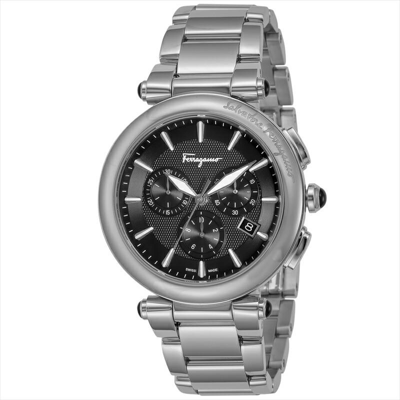 フェラガモ Ferragamo メンズ腕時計 イディリオ FCP070017 ブラック