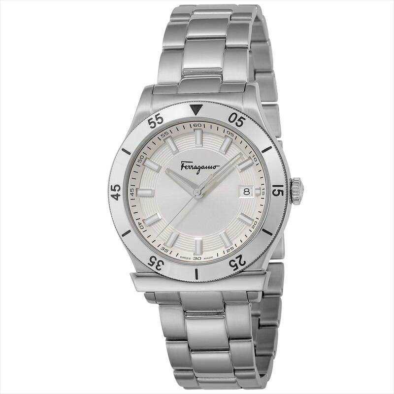 フェラガモ Ferragamo メンズ腕時計 フェラガモ1898 FH1020017 シルバー