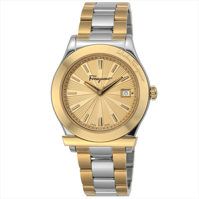 フェラガモ Ferragamo メンズ腕時計 フェラガモ1898 FF3340017 ゴールド