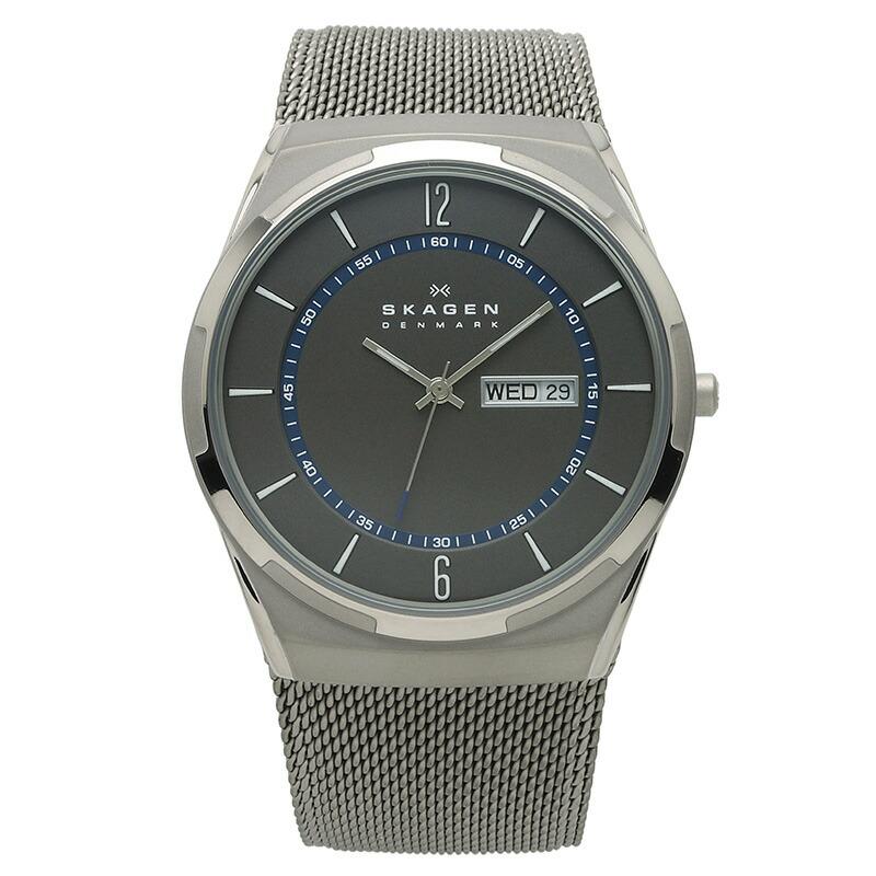 スカーゲン SKAGEN 腕時計 SKW6078 AKTIV ブラック チタニウム