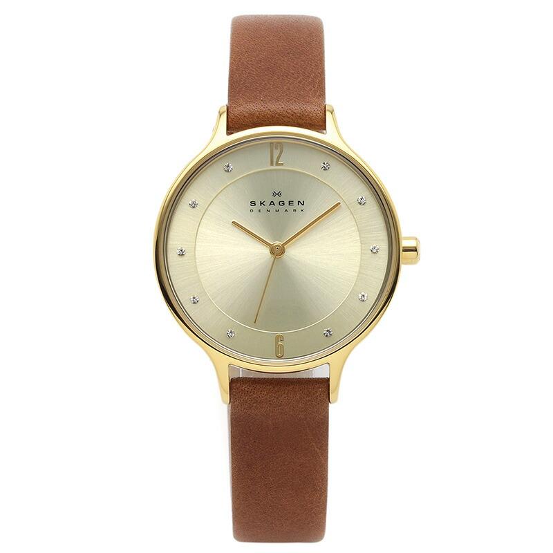 スカーゲン SKAGEN 腕時計 SKW2147 KLASSIK ゴールド ステンレス