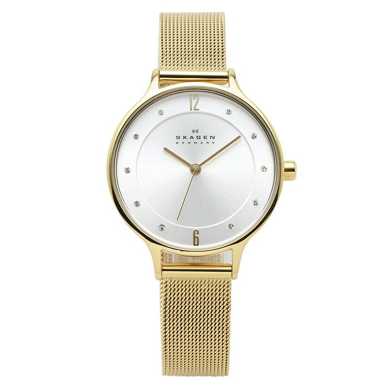 スカーゲン SKAGEN 腕時計 SKW2150 ANITA シルバー YGメッキ