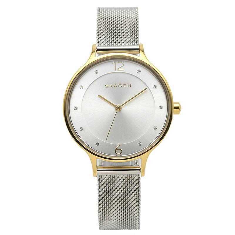 スカーゲン SKAGEN 腕時計 SKW2340 ANITA シルバー YGメッキ