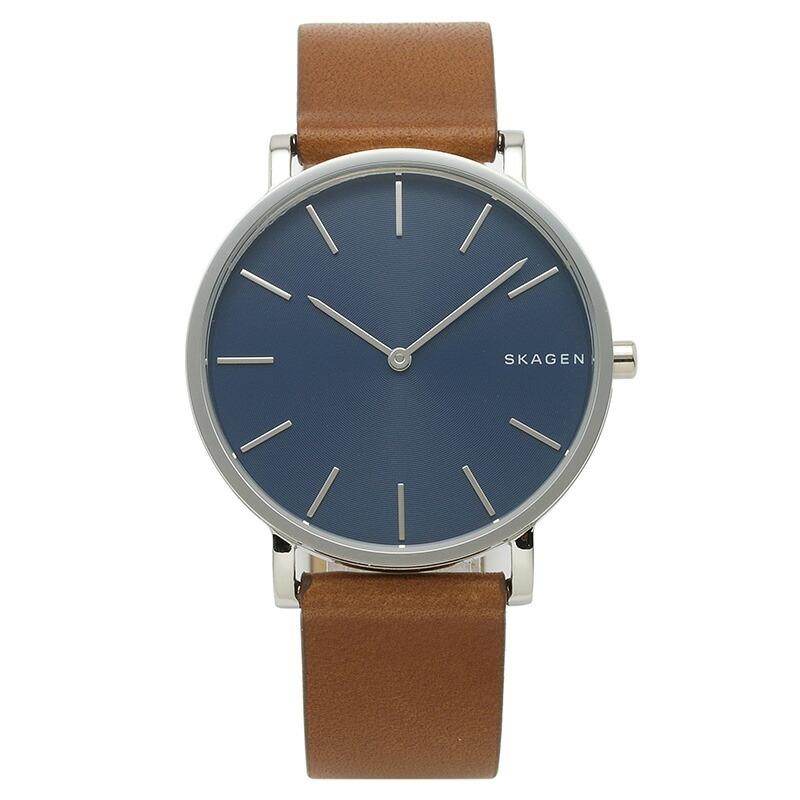 スカーゲン SKAGEN 腕時計 SKW6446 HAGEN ブルー ステンレス