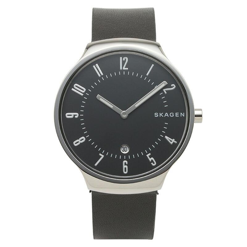 スカーゲン SKAGEN 腕時計 SKW6459 GRENEN ブラック ステンレス
