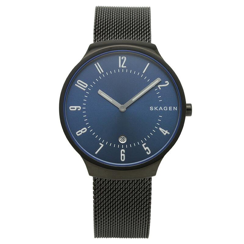 スカーゲン SKAGEN 腕時計 SKW6461 GRENEN ブルー ステンレス