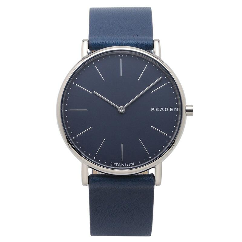 スカーゲン SKAGEN 腕時計 SKW6481 SIGNATUR ブルー チタニウム