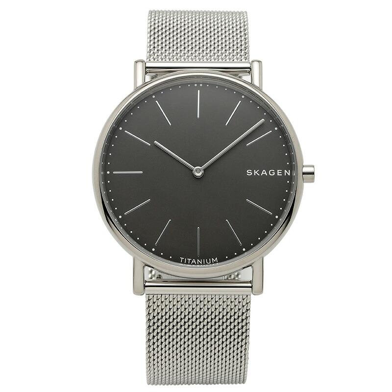スカーゲン SKAGEN 腕時計 SKW6483 SIGNATUR ブラック ステンレス