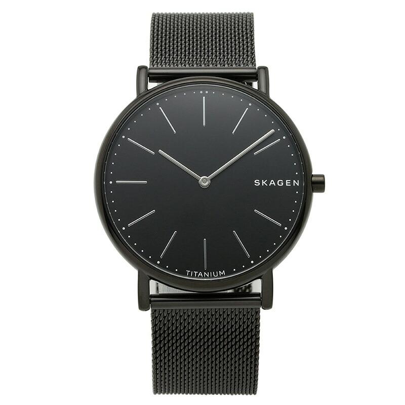 スカーゲン SKAGEN 腕時計 SKW6484 SIGNATUR ブラック ステンレス