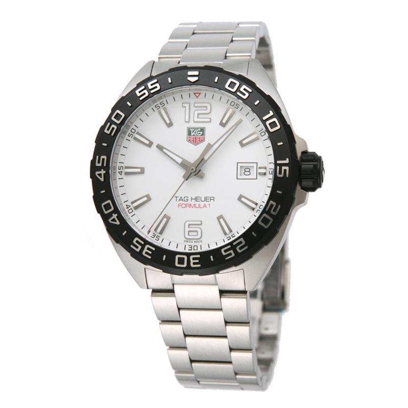 タグホイヤー TAG Heuer 腕時計 FORMULA 1 ホワイト WAZ1111.BA0875