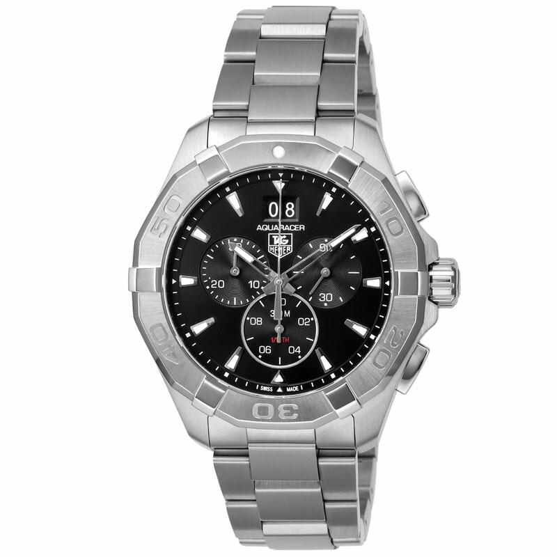 タグホイヤー TAG Heuer メンズ腕時計 Aquaracer CAY1110.BA0927 ブラック