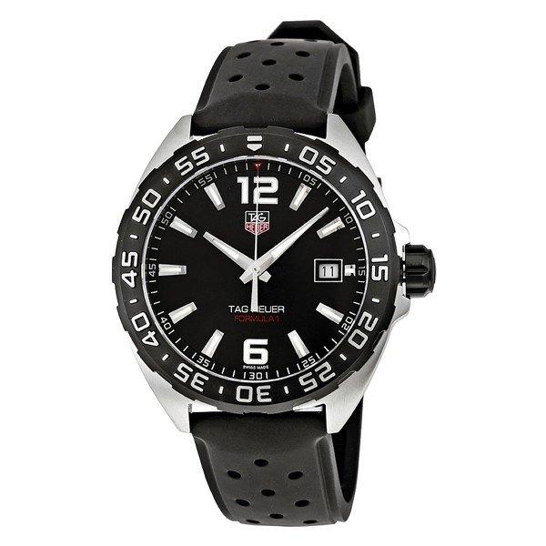 タグホイヤー TAG Heuer 腕時計 フォーミュラ1 メンズ ブラック WAZ1110.FT8023