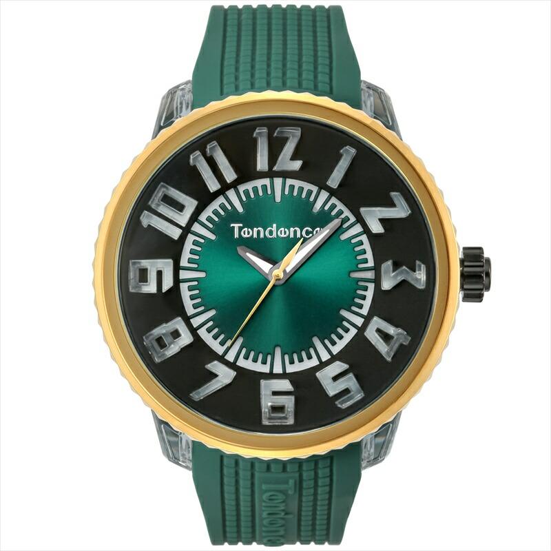 テンデンス TENDENCE ユニセックス腕時計 フラシュ TY532001 グリーン