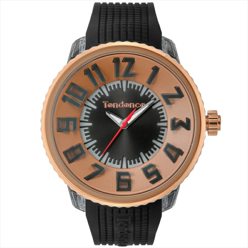テンデンス TENDENCE ユニセックス腕時計 フラシュ TY532002 ブラック