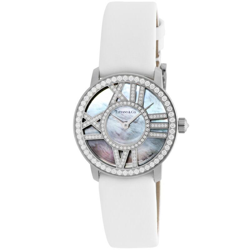 ティファニー Tiffany Co. 腕時計 レディース Cocktail 市販 引き出物 ホワイトパール Atlas Round Z1900.10.40E91A40B
