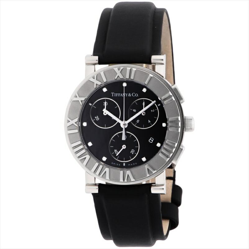 【店内全品送料無料~3/11】ティファニー Tiffany & Co. 腕時計 AtlasChrono ブラック Z0007.32.10A10B41A