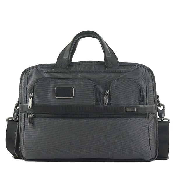 トゥミ TUMI ブリーフケース TUMI T-PASS? MEDIUM SCREEN LAPTOP SLIM BRIEF ALPHA 2 26516 PEWTER