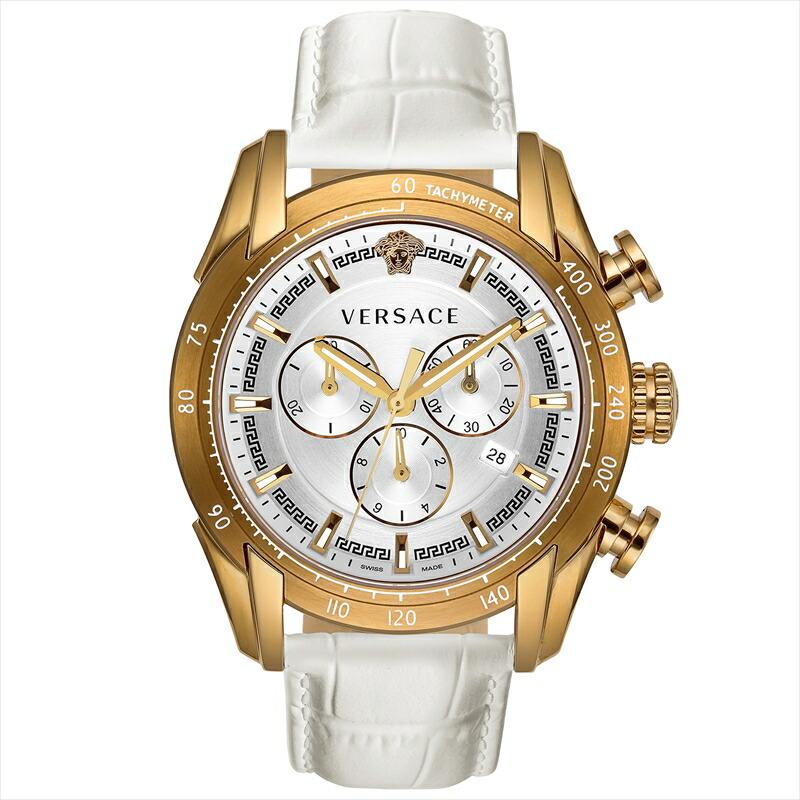 ジャンニヴェルサーチ VERSACE メンズ腕時計 V-RAY VEDB00218 シルバー