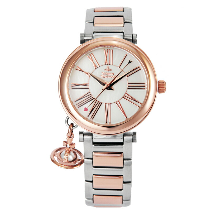 ヴィヴィアンウエストウッド Vivienne Westwood レディース腕時計 VV006PRSSL