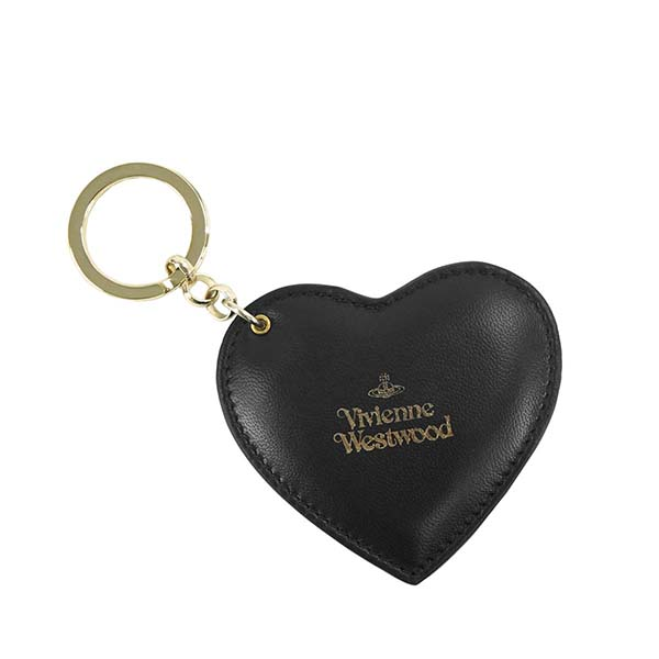 ヴィヴィアンウエストウッド VIVIENNE WESTWOOD キーリング HEART KEYRING EMMA 82030027 BLACK