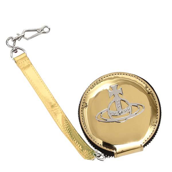 ヴィヴィアンウエストウッド VIVIENNE WESTWOOD 小銭入れ ROUND COIN CASE JOHANNA 51070016 GOLD