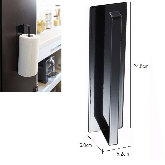 使い易くどんなシーンにも合わせやすいウォールキッチンシリーズです。 【山崎実業】マグネット キッチン ペーパーホルダー tower(タワー) ホワイト/ブラック マグネット 壁面収納 キッチン収納