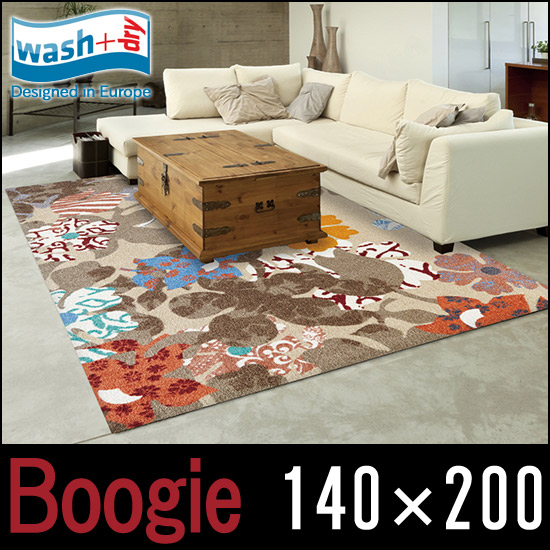【オープニング大セール】 【wash + dry】Boogie【140×200cm【wash】屋外・屋内兼用 洗えるマット フロアマット 洗えるマット フロアマット リビング 薄型 クリーンテックスジャパン【ウォッシュアンドドライ】, アクオリー:c8a6cf6e --- canoncity.azurewebsites.net