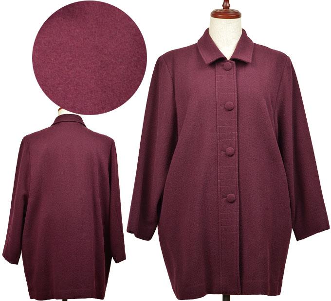 最初の  フリーサイズ総裏付きコート シニアファッション 秋 冬 冬 ミセス, プラウ:890a5733 --- stsimeonangakure.org