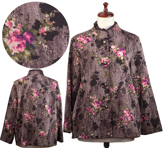 Crew Clothing Floral Blouse Top in Pink Size 8-12 X3.6