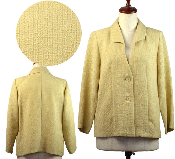 ジャケット13号 シニアファッション 夏 おばあちゃん ゆったりサイズ シニア向け婦人服