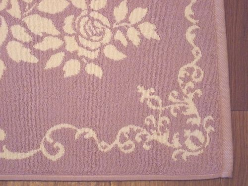 Terry cloth bath mats: elegant rose (Pink) rose rose rose Terry cloth bath mat cotton 100% cotton