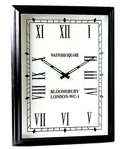 【送料無料】シルバークロック:長方形壁掛け時計(縦型)時計 壁掛け シルバー 新築祝い 引越祝い 記念品 通販 おしゃれ シンプル 【HLS_DU】