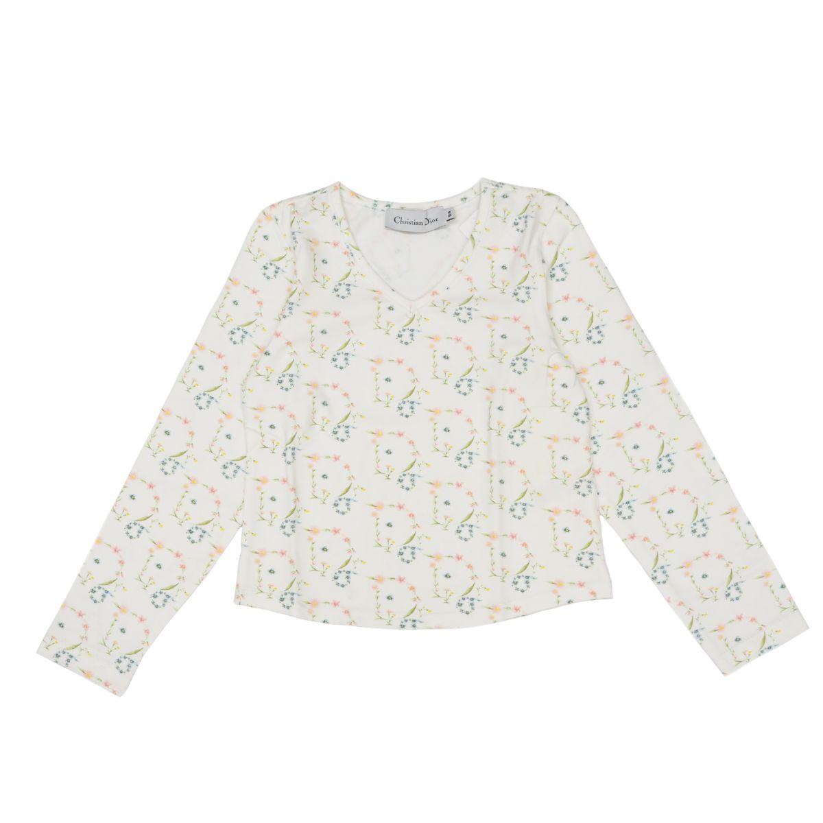 新品 DIOR ディオール 販売期間 限定のお得なタイムセール キッズTシャツ Christian Dior クリスチャンディオール プレゼント ギフト 世界の人気ブランド 6A 子供服