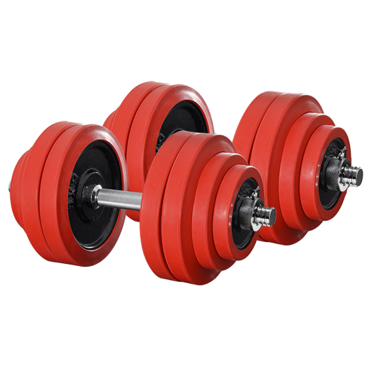 〈1年保証〉ダンベル 30kg 2個セット ラバーダンベル 60kgセット【ダンベルセット 計 60kg 30kg 2個】ラバー付き ダンベル 30kg ダンベル 60kg セット プレート 筋トレ 鉄アレイ 30kg×2 5kg 10kg 15kg 20kg 25kg set[送料無料]