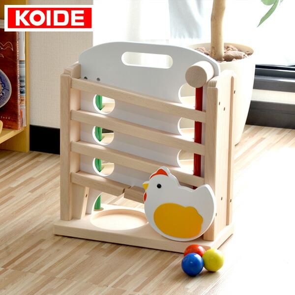 〈1年保証〉コイデ KOIDE 日本製 おもちゃ 玩具 キンコンボール M08 ボール 知育 室内 3歳 男の子 女の子 子供 幼児 ベビー 知育玩具 出産祝い 誕生日 ウッド 天然木 国産[送料無料]