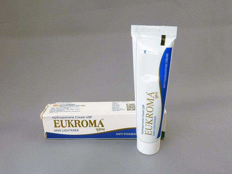 Eldopaque EUKROMA 霜对苯二酚 4%奶油 20 克