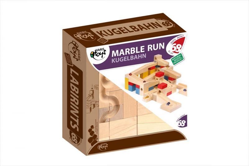 キュボロと同じ安心のヨーロッパ製 木製知育玩具 VARIS(ヴァリス) Marble Run XL ビー玉の通り道