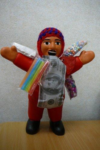 エケコ人形 上質 エケッコー人形 約18cm 南米ペルー直輸入 新着セール