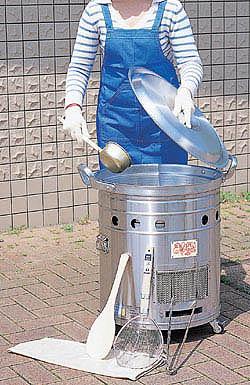 大型炊き出し器<まかないくん30型>基本セット