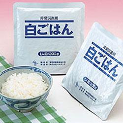 【送料無料】 レトルト保存食シリーズ 白ごはん200g×30袋:レスキューストア