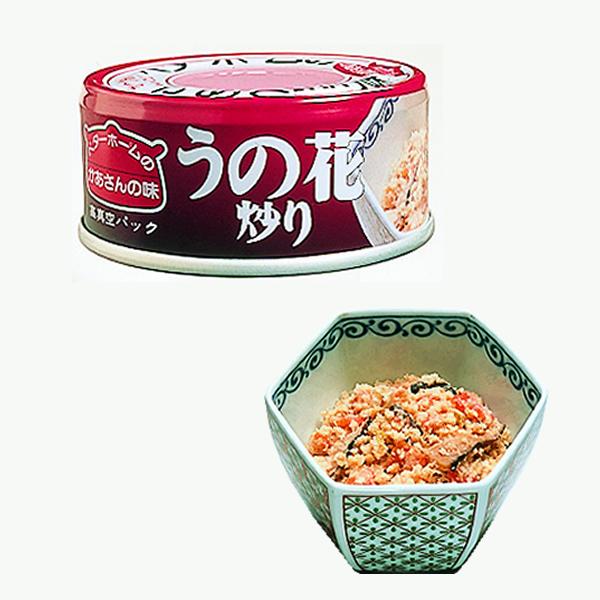 ベターホーム かあさんの味 缶詰 うの花炒り 48缶 【備蓄 長期保存 非常用食料 缶詰 おかず 惣菜】