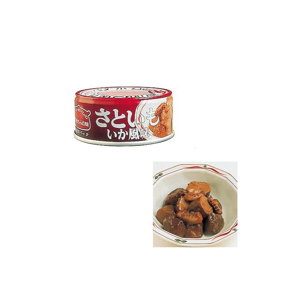 ベターホーム かあさんの味 缶詰 さといも いか風味 48缶 【備蓄 長期保存 非常用食料 缶詰 おかず 惣菜】